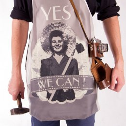 "FARTUSZEK RETRO z napisem ""Yes we can"""